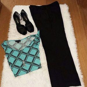 Classy Black Rafaella Pants sz 12